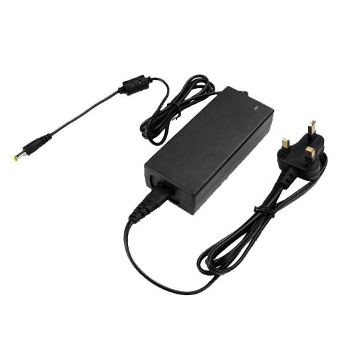 72W3A DC24V Plastic Shell Enclosed Power Supply Adapter For LED Strip Light