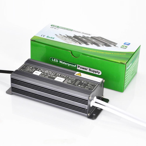 80W6.7A DC12V Constant Voltage Outdoor Waterproof IP67 Switching LED Driver Transformer Power Supply For LED Light Strips