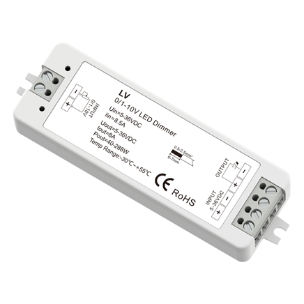 0/1-10V Constant Voltage LED Dimmer LV For outdoor LED light strip