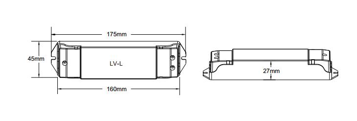 0 1 10v Constant Voltage Led Dimmer Lv L For Led Lights