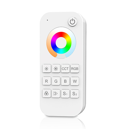1 Zone RF 2.4G LED 3-in-1 Remote controllerRT5 For single color, dual color, RGB, RGBW or RGB+CCT LED Strip Light Kit