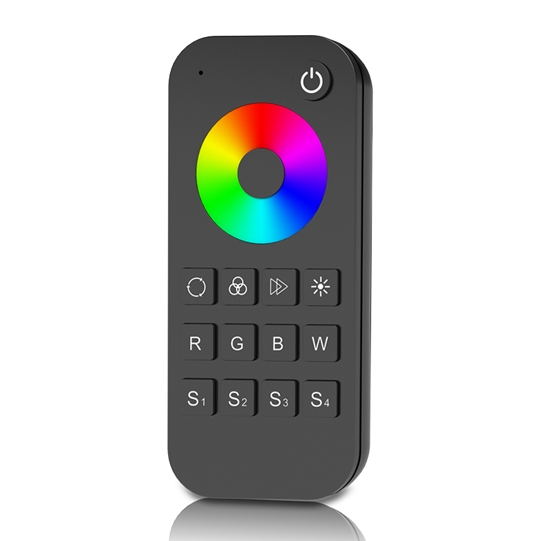 1 Zone RF 2.4G LED RGB Remote RT4 For RGB or RGBW LED controller, dimming driver or RGB led light strip