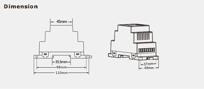 4 CH Constant Voltage DMX512 Decoder D4 For outdoor led