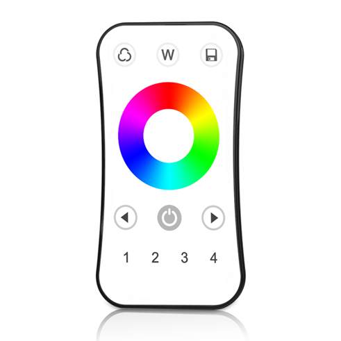 4 Zones RF 2.4G LED RGB Remote R8 For RGB or RGBW LED controller, dimming driver or smart lamp