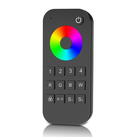 4 Zones RF 2.4G LED RGB Remote RT9 For RGB or RGBW LED controller, dimming driver or smart lamp