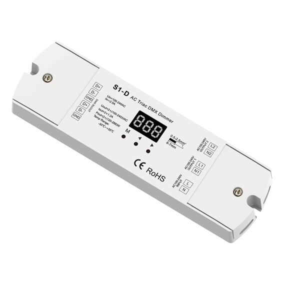AC Triac DMX Dimmer S1-D For LED strip lighting kit
