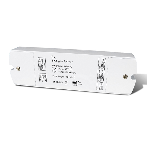 DC5-24V SPI Signal Splitter SA For led strip lighting fixtures