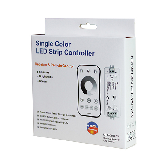Single Color LED Controller Set V1 + R6-1 For single color LED Strip light