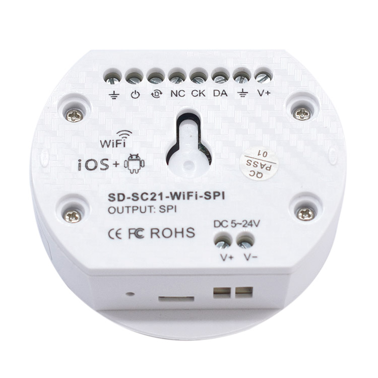 WiFi SPI Programmable Time Controller WiFi-SPI For WS2801 WS2812B LPD6803 Addressable Digital LED Strip Lights