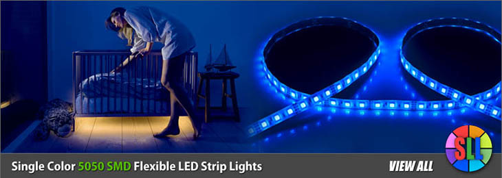 5050 SMD Flexible LED Strip Lights