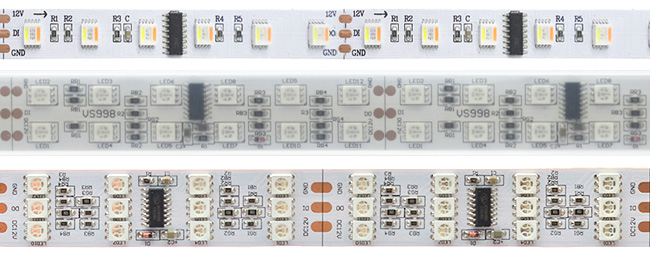 TM1812 IC Programmable LED Strips