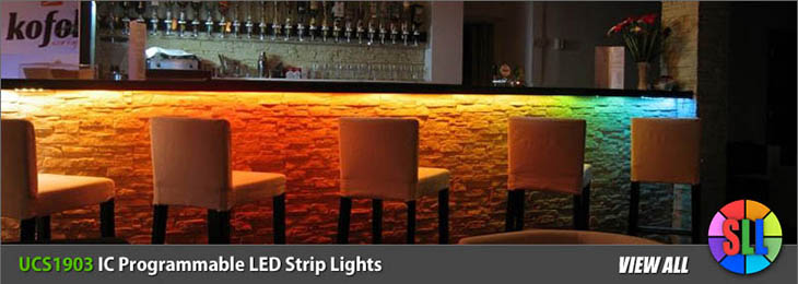 UCS1903 IC Programmable LED Strips