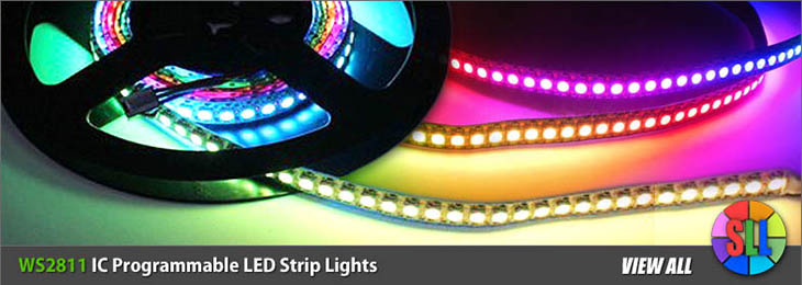 WS2811 IC Programmable LED Strips