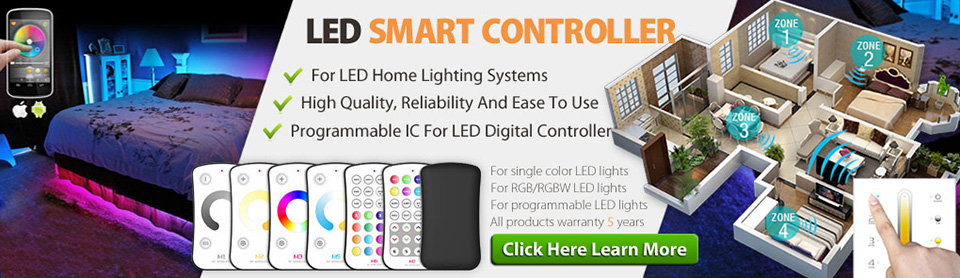 LED Smart LETCH Controller For LED Strip Lighting