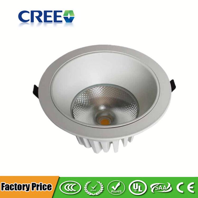 huge discount 909ae 28ab0 5~40Watt LED COB Ceiling Light - Flush Mount LED Downlight ...