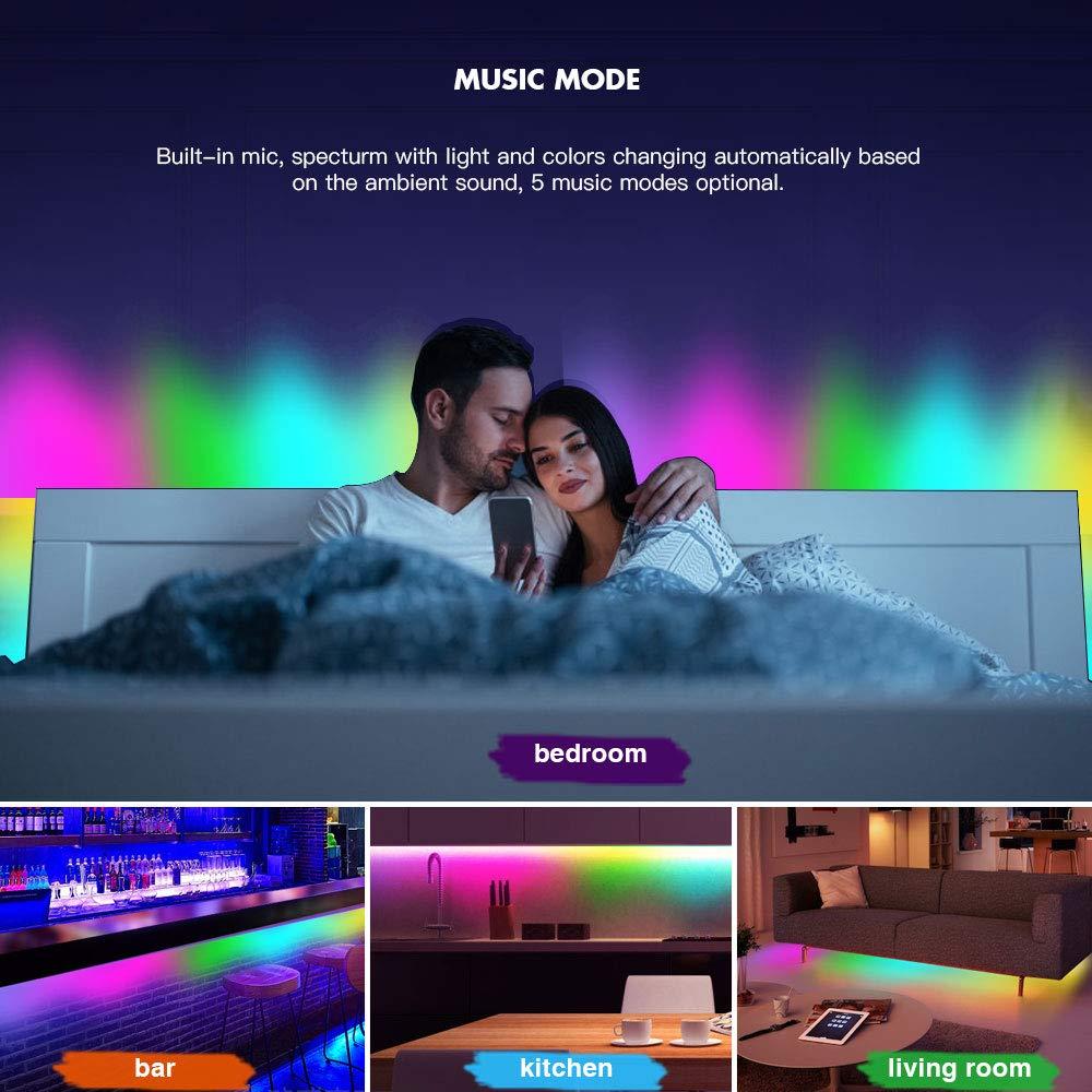 32 8ft 10m Dream Color Led Light Built In Ic Rgb 300leds
