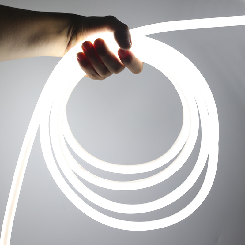 Dc12 24v 360 Degree Round Digital Rgb Led Neon Flex Lights