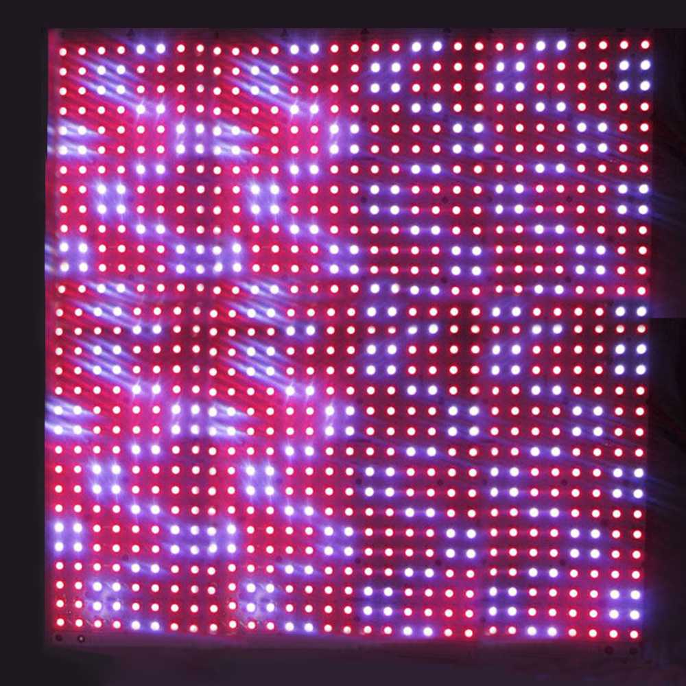 LED Music Spectrum Display Screen 6 Modes MS3264 DIY 12*6inch LED
