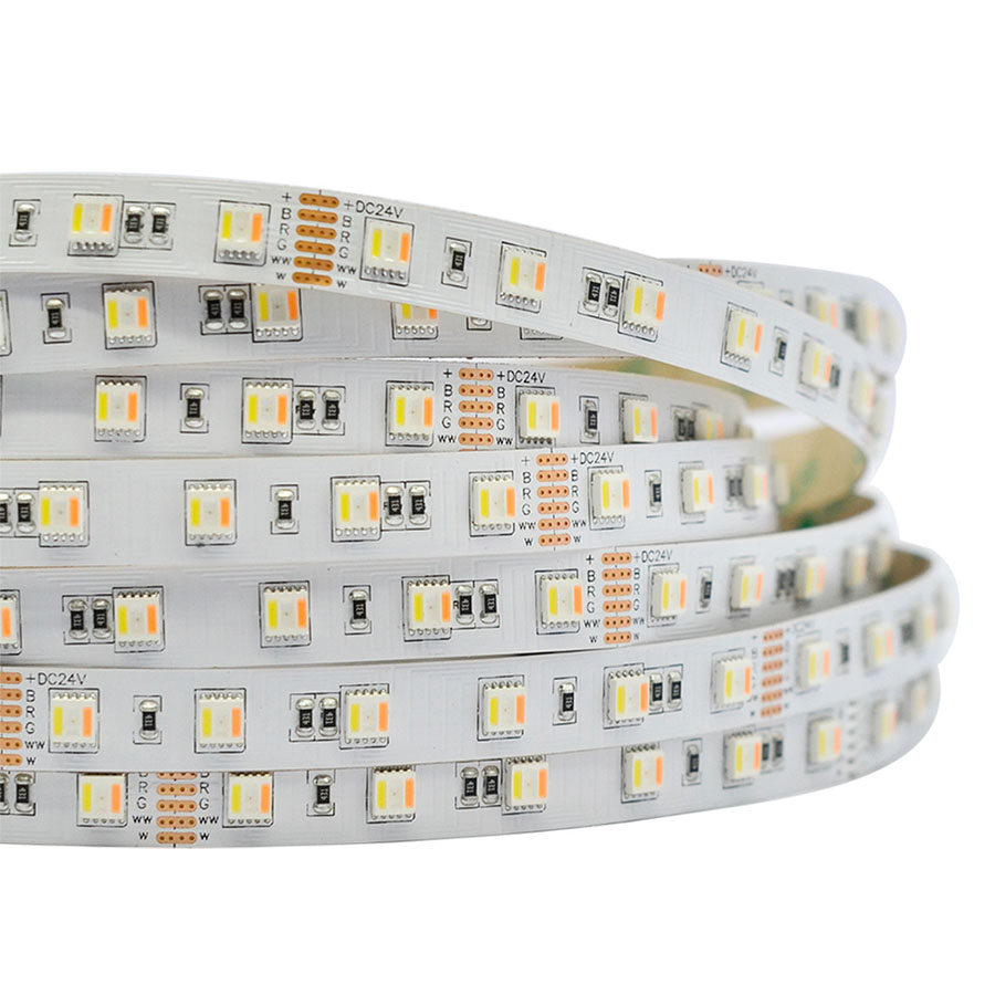 Single Row Rgb Cct 5in1 Series Dc12 24v 5050smd 300leds