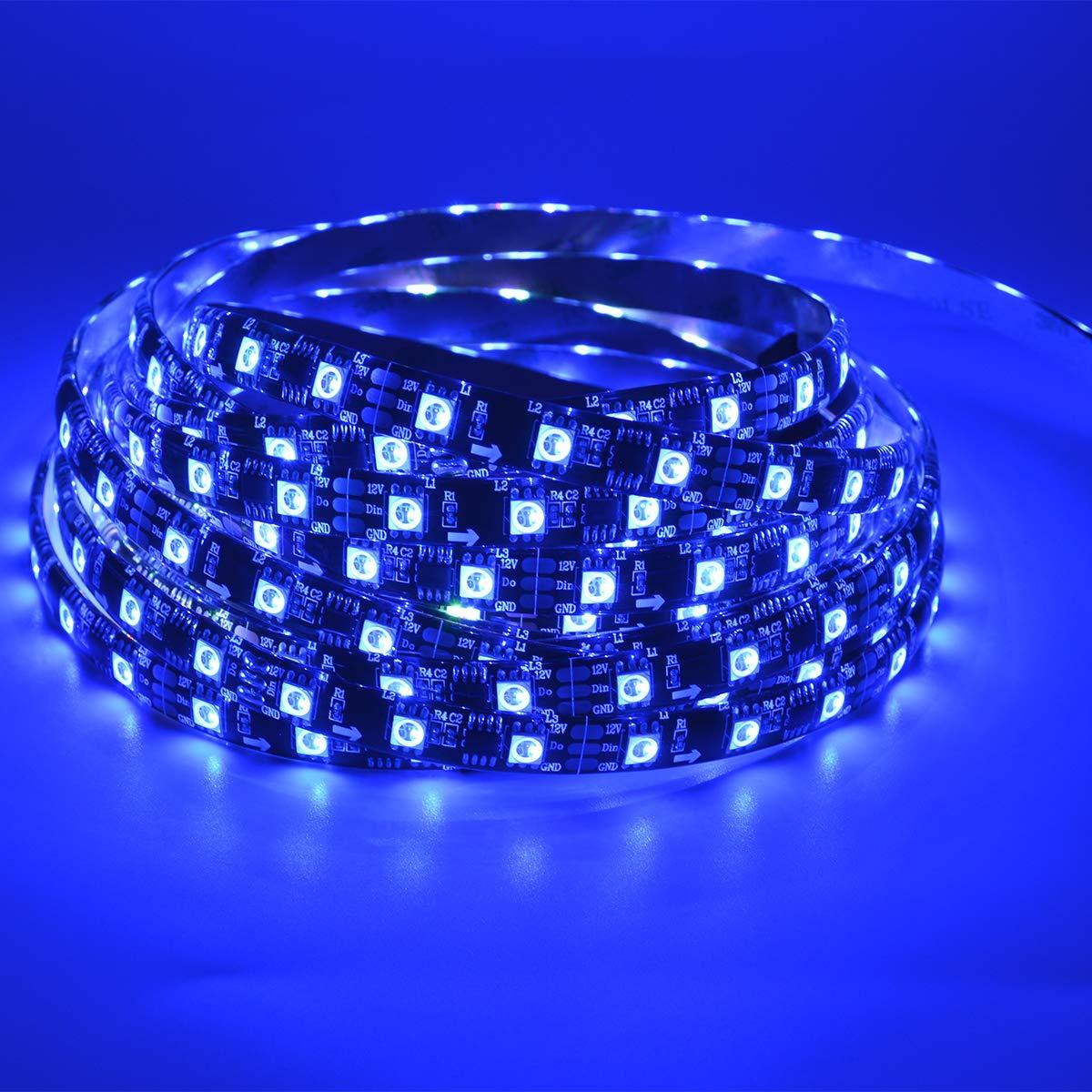 WS2811 DC12V 300LEDs Programmable LED Strip Lights, Addressable